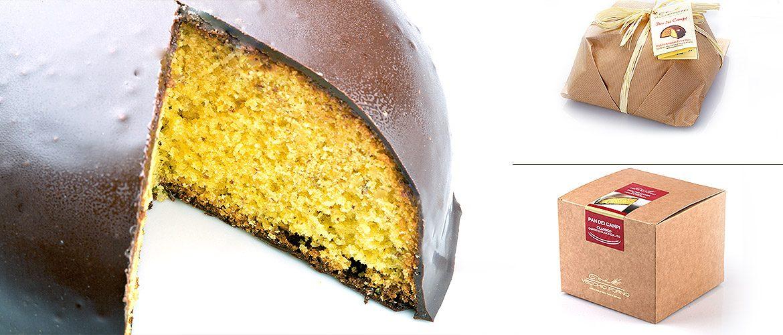 Pan Dei Campi Rustica ricoperto al cioccolato